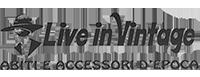 Live in Vintage | Negozio Vintage Milano Logo