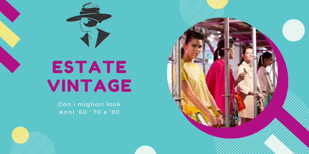 vestiti vintage estivi